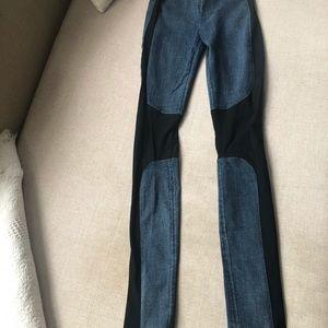 Helmut Lang skinny jeans leggings XS 25 jeggings